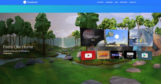 Daydream-plattformen skal tilsynelatende også by på VR-grensesnitt for eksisterende apper.