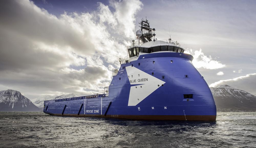 Blue-Queen fra Ulstein er ett av skipene som har dukket opp i avtalene mellom polske og nordkoreanske selskaper.