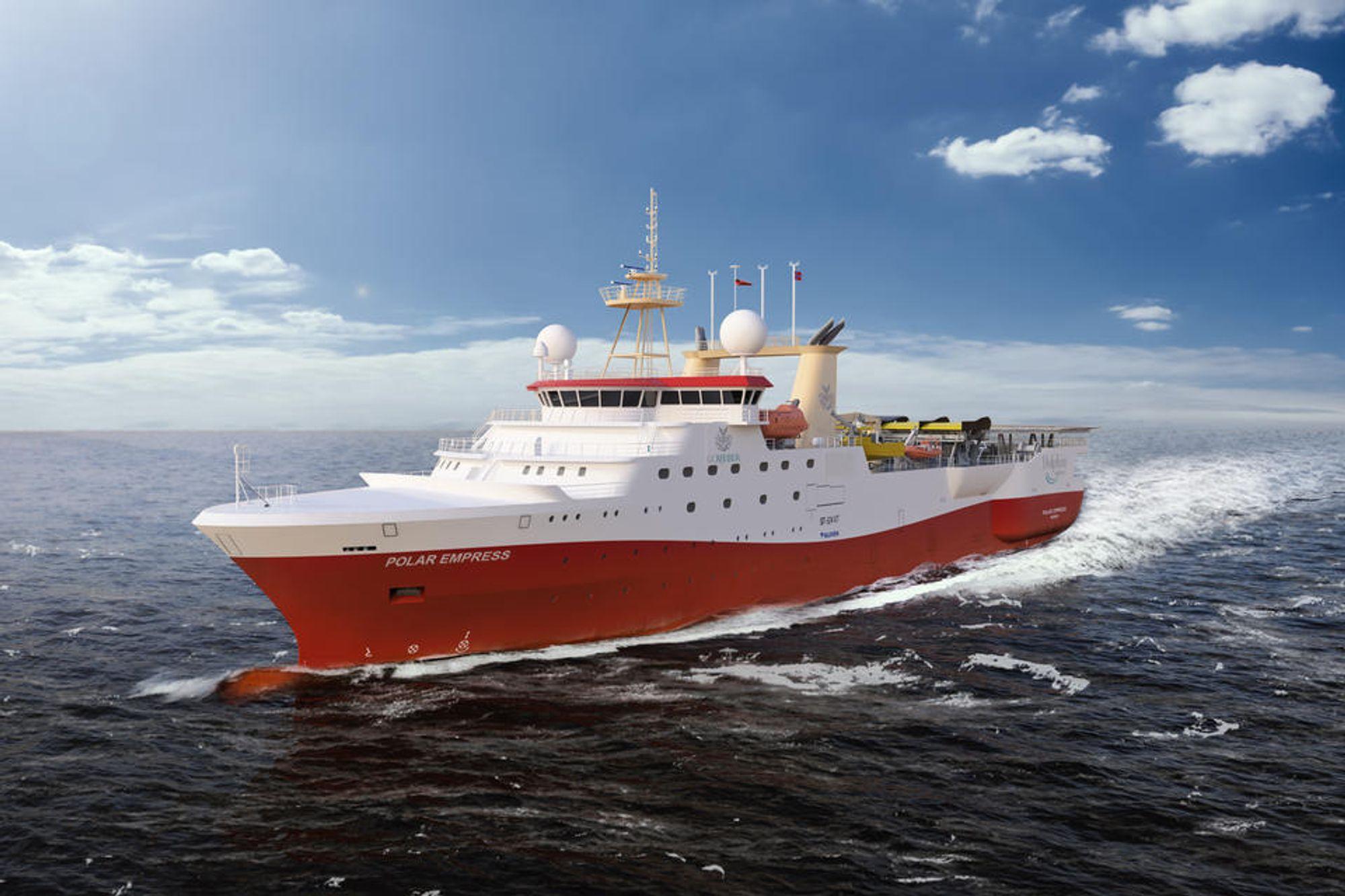 Klevens skip Polar Empress, som ble bygget for GC Rieber, ble åstedet for et brutalt dødsfall da en nordkoreansk arbeider tok fyr under sveising.