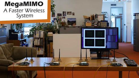 Forskere tredobler Wi-Fi-farten ved å bruke distibuert MIMO-teknologi