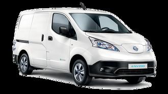 Nissan e-NV200 er en varebil bygget på Nissan Leaf-plattformen, med batterier fra AESC.