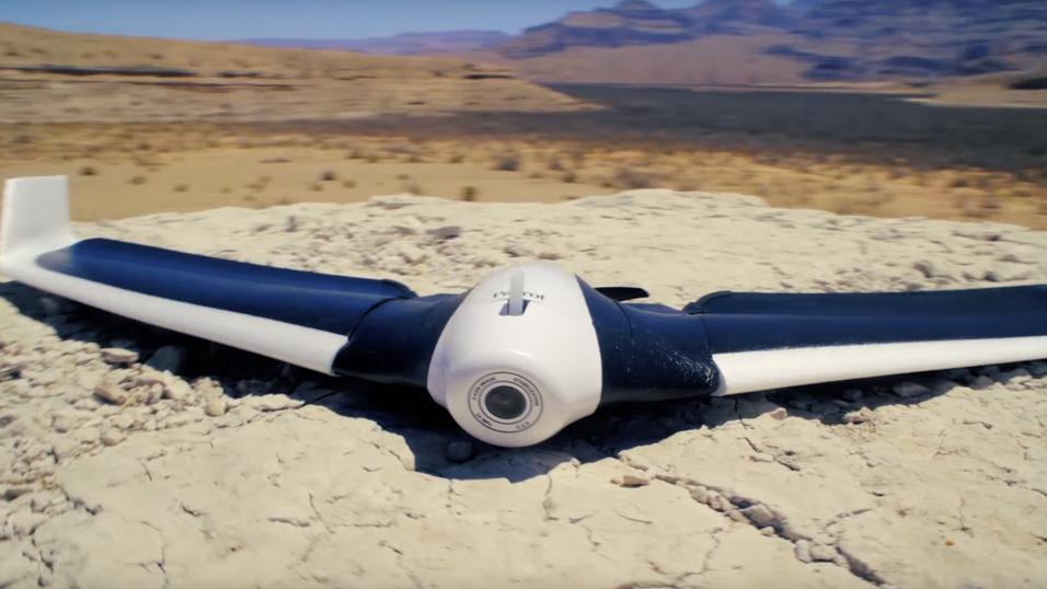 Den vingeformede dronen Disco.