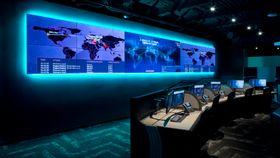War room: Cyviz fra Stavanger skal levere kontroll- og kommandoromsløsninger til det nye Memorial Hermann utenfor Houston. Herfra styres alle it-systemer for 24 000 ansatte.