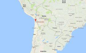 Ørken: Den kommende solparken skal ligge i Atacama-regionen, som er det stedet i verden med høyest solinnstråling, ifølge IDB.