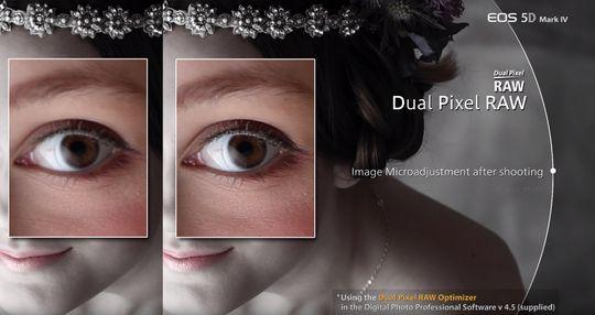 Med Dual Pixel RAW skal vi ifølge Canon kunne gjøre slike mikrojusteringer av fokus, etter at bildet er tatt.