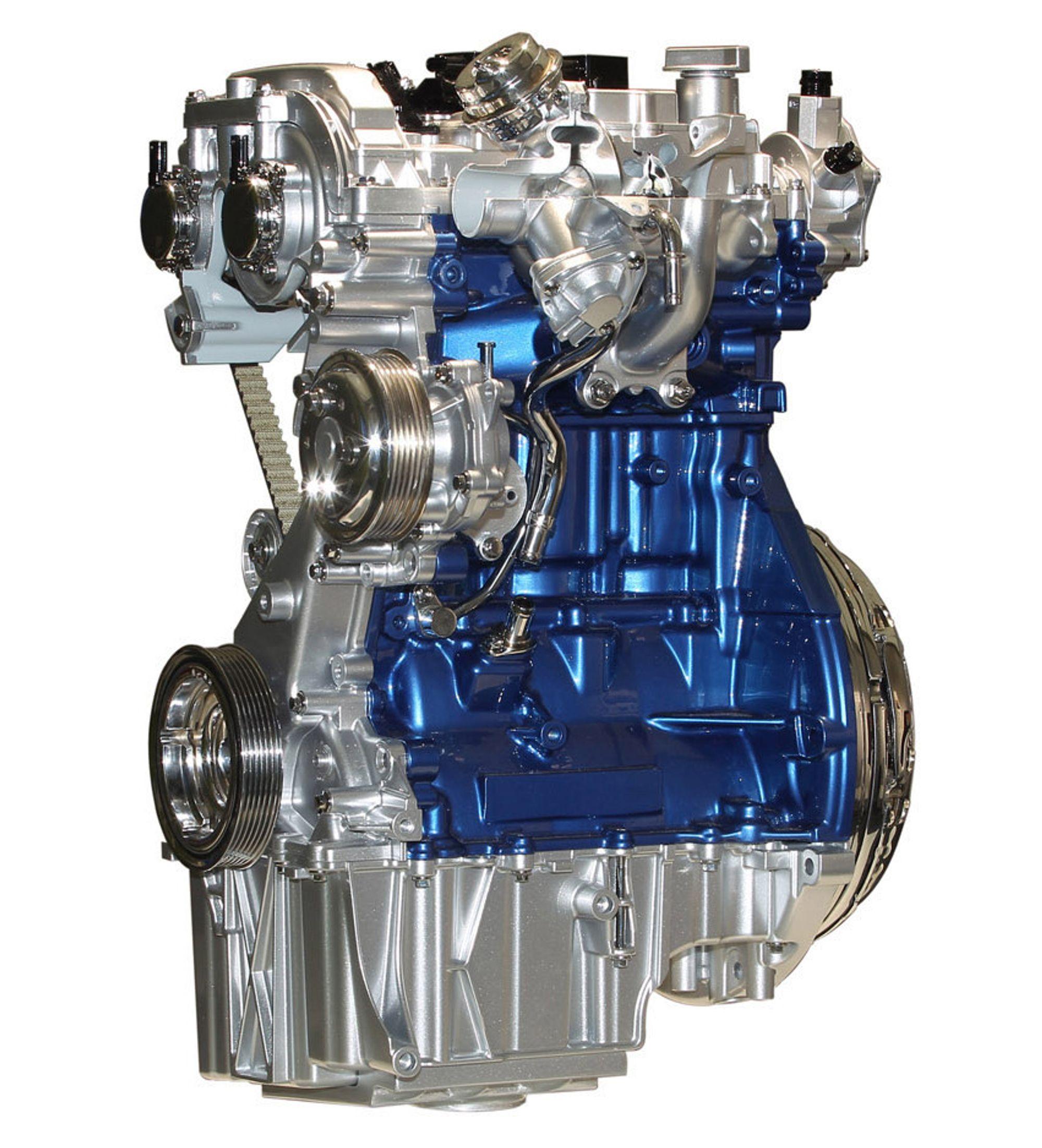 Hvordan fungerer en bensinmotor