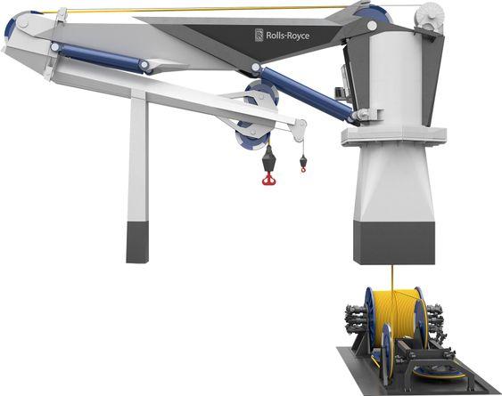 Industridesignere ga krana et visuelt løft og sørget for lettere konstruksjon.