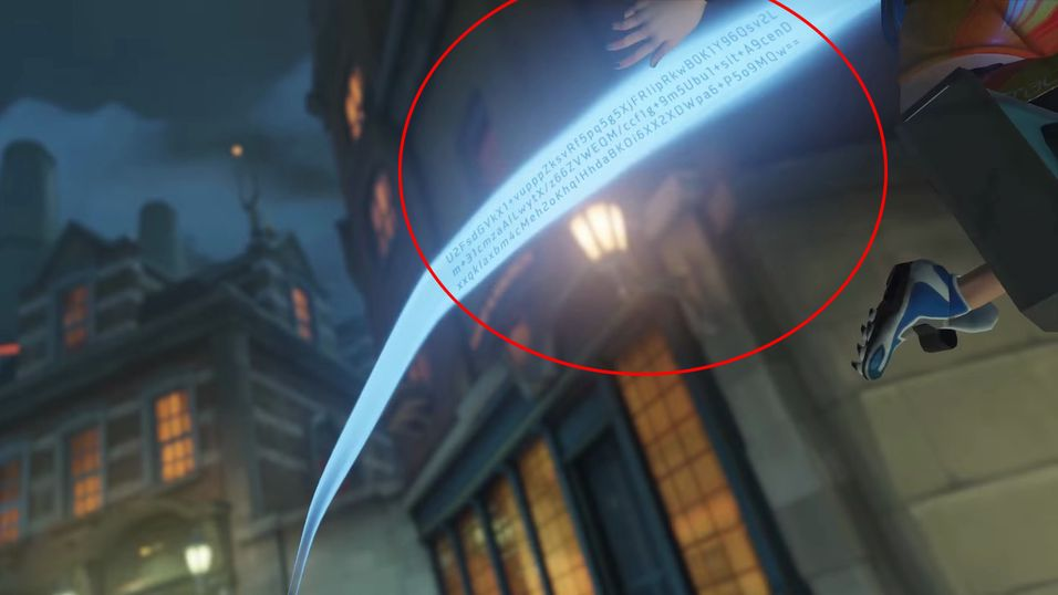 Denne koden ble funnet i en video for Overwatch Summer Games.