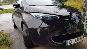 Renault Zoe leveres med Michelins Energy E-V-dekk.