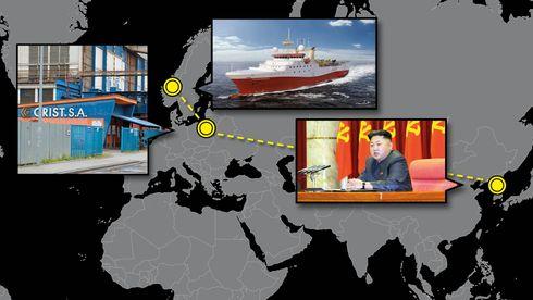 Fra Vestlandet til Pyongyang: Norske selskap i europeisk slaveskandale
