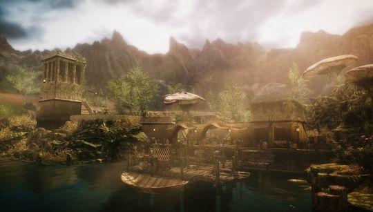 Morrowind slik det kan ende opp med a se ut i Skywind.
