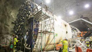 Denne delen av tunnelboring vet ingen konsekvensene av. Nå skal det forskes på Follobanen