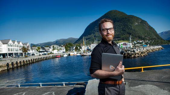 Hjem til IoT: Inntil i sommer var Tarjei Vassbotn en av Googles topper på IoT. Han ble så begeistret av Disruptive Technologies at han pakket sakene sine og flyttet tilbake til Norge. Her skal han lede selskapets utvikling av programvare og nettskytjenester.