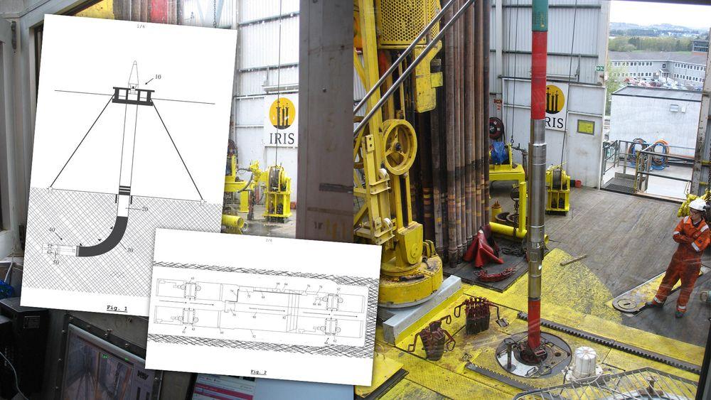 Her testes oppfinnelsen ved IRIS-bore og brønnsenter i Stavanger.