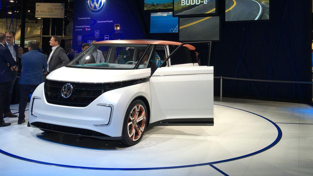 VW brukte CES til nok en gang å unnskylde fadesen rundt sine dieselmotorer. Lanseringen av BUDD-e lettet litt på trykket og indikerte at konsernet har en spennende produktplattform for sine fremtidige elbiler