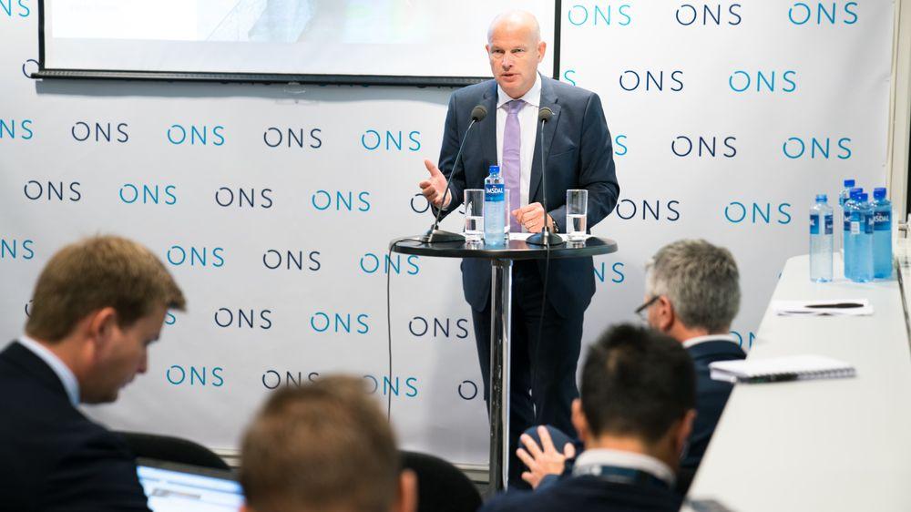 Sparer en milliard: Direktør for norsk sokkel i Statoil,Arne Sigve Nylund, er stolt av prosjektet Gullfaks Rimfaksdalen. Foto: Eirik Helland Urke