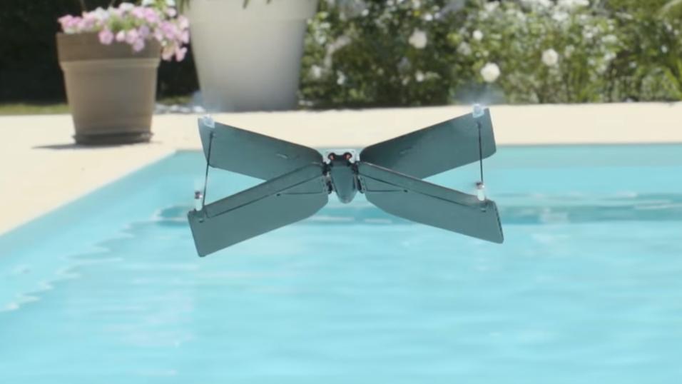 Slik ser den X-wing-formede dronen ut.