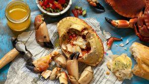 Slik renser og koker du krabbe