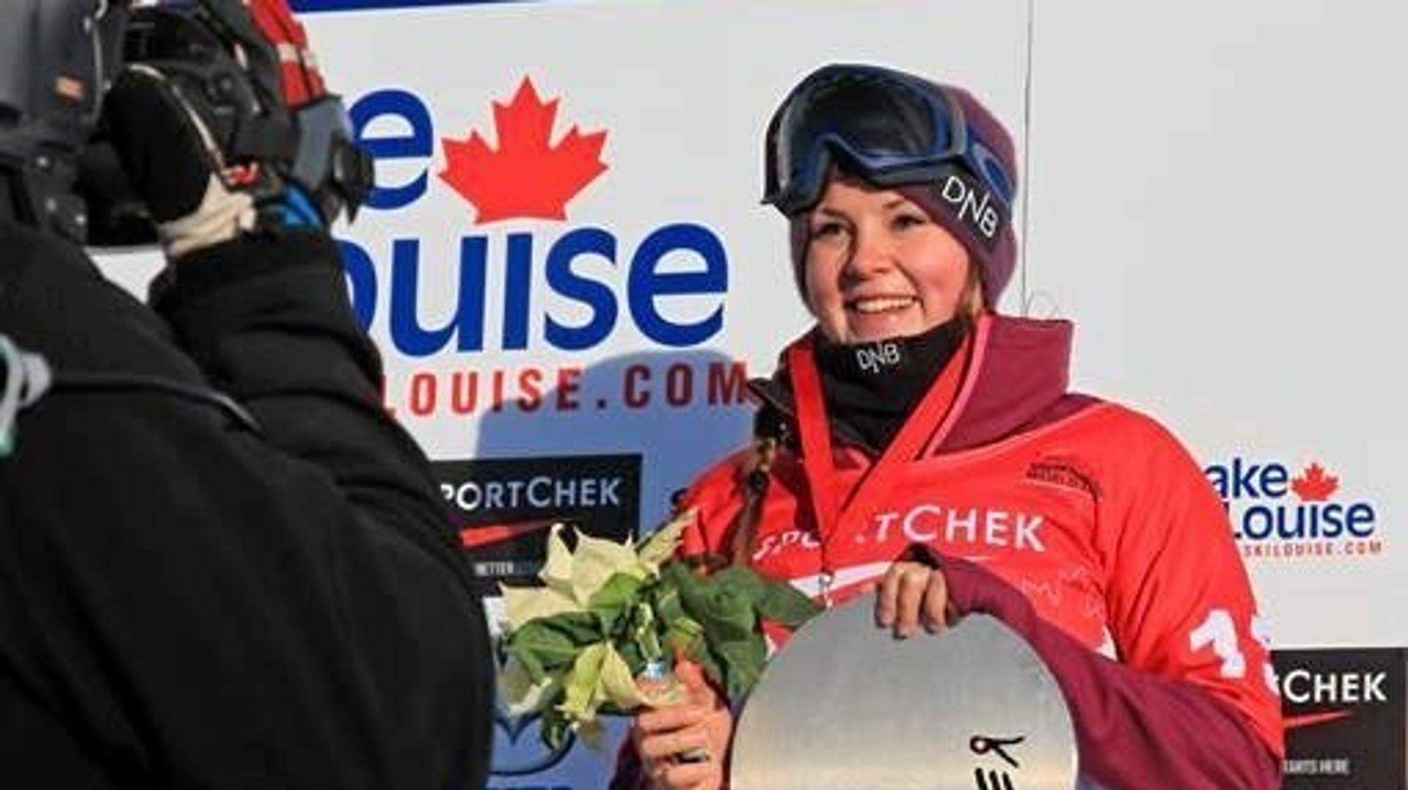MERITTERT: Mang en gang har Helene Olafsen stått på toppen av pallen.