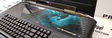 Slik ser verdens første gaming-bærbare med kurvet skjerm ut