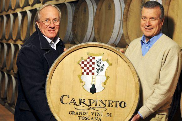 Giovanni Carlo Sacchet og Antonio Mario Zaccheo dro igang Carpineto i 1967.