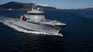 Det norske kystvaktfartøyet ble reparert på verft med nordkoreanske arbeidere