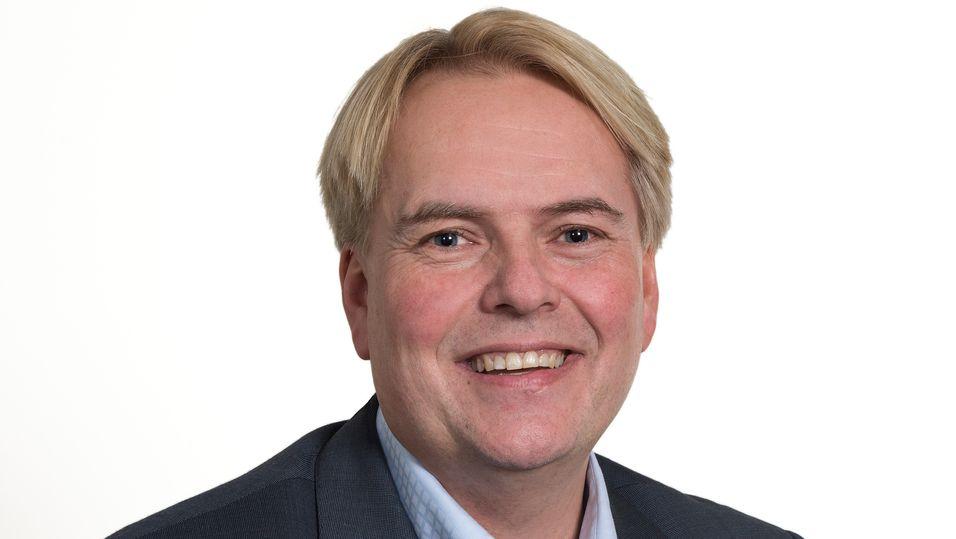 Svein Olav Munkeby er administrerende direktør i NTE Marked, og leder selskapets bredbåndsvirksomhet.