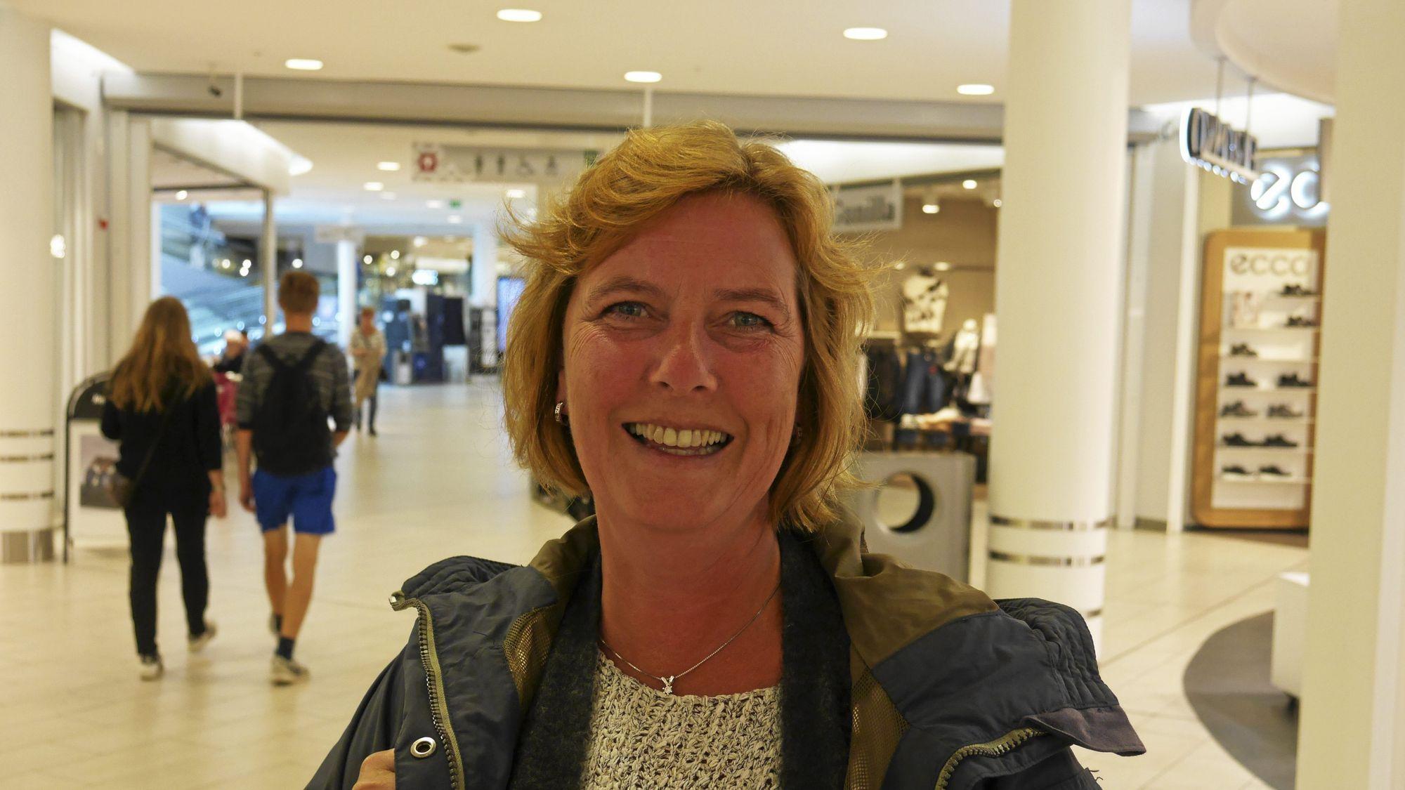 Karen Pedersen fra Kolbotn splitter gjerne regningen med Svartskog-folket..