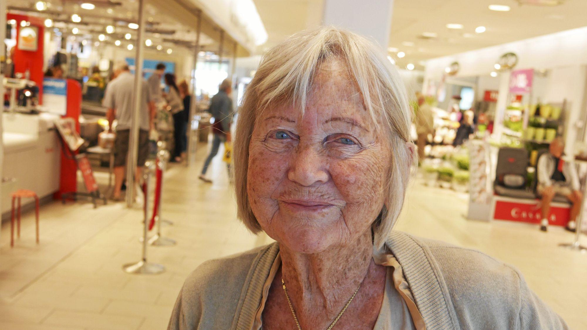 ØNSKER IKKE Å BETALE: Eva Huus fra Kolbotn mener Svartskog-folket må betale selv.
