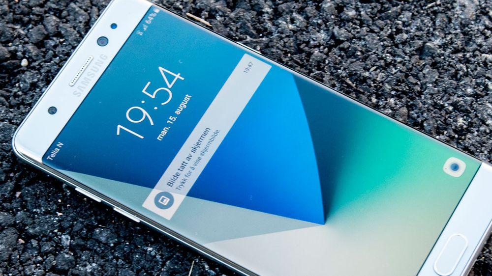 Kan Samsung fjern-deaktivere eksplosjonsfarlige Galaxy Note 7-modeller?