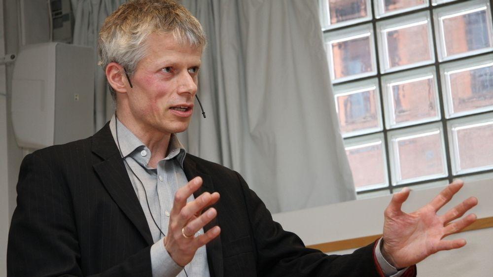 EUs straffeskatt mot Apple vekker interesse også hos skattedirektør Hans Christian Holte (arkivbilde).