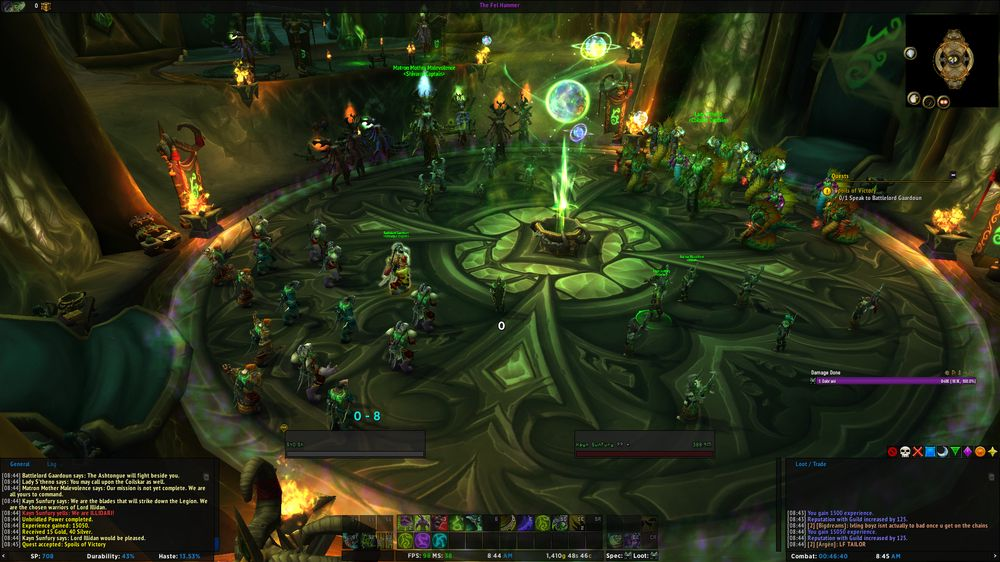 Class Order Hall for demonjegere.