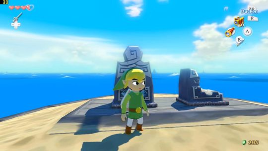 Legend of Zelda: The Wind Waker har en verden som først og fremst føles enorm.