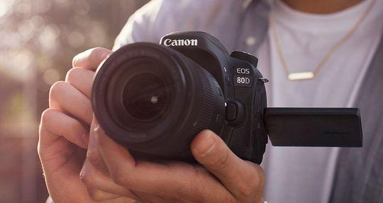Canon har lagt mye vekt på videoegenskapene i promoteringen av EOS 80D.