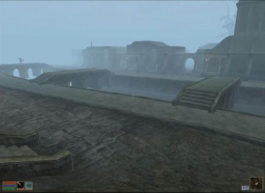 Balmora er et av maktsentrene på Vvardenfell.