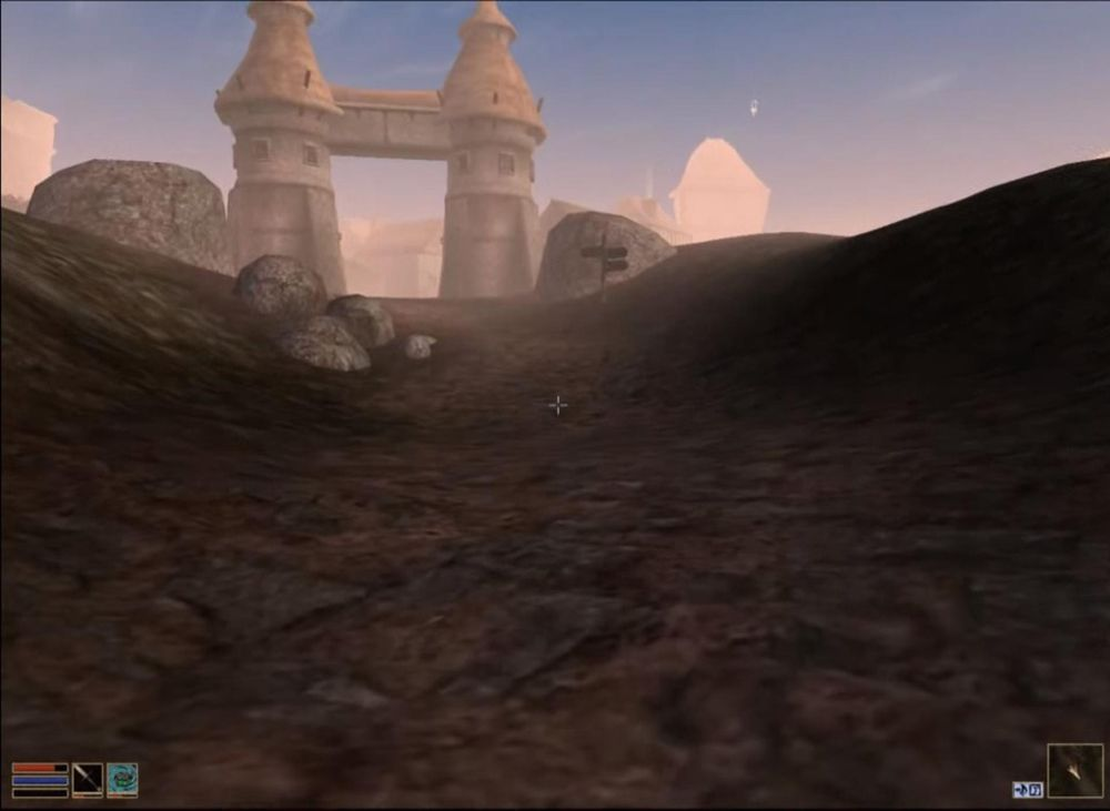 Om det er ett sted veiene ikke er trygge, er det i Morrowind.