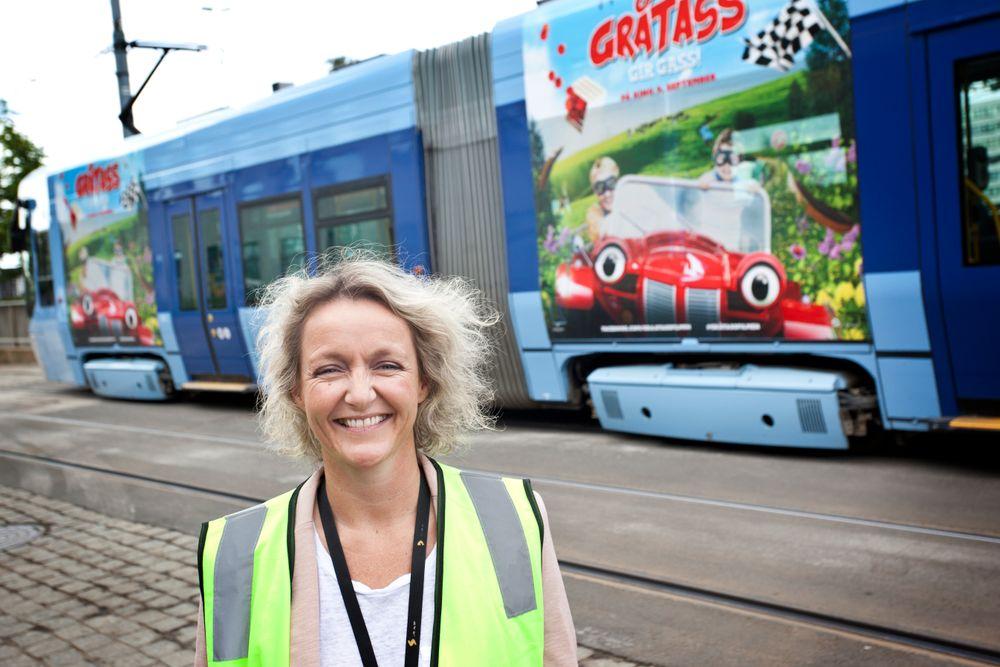 Birte Sjule er ny administrerende direktør i Sporveien Trikken. Hun har store prosjekter på teppet de neste årene.