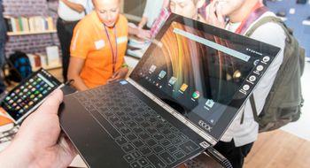 Lenovo Yoga Book Den sprøeste PC-en på IFA?