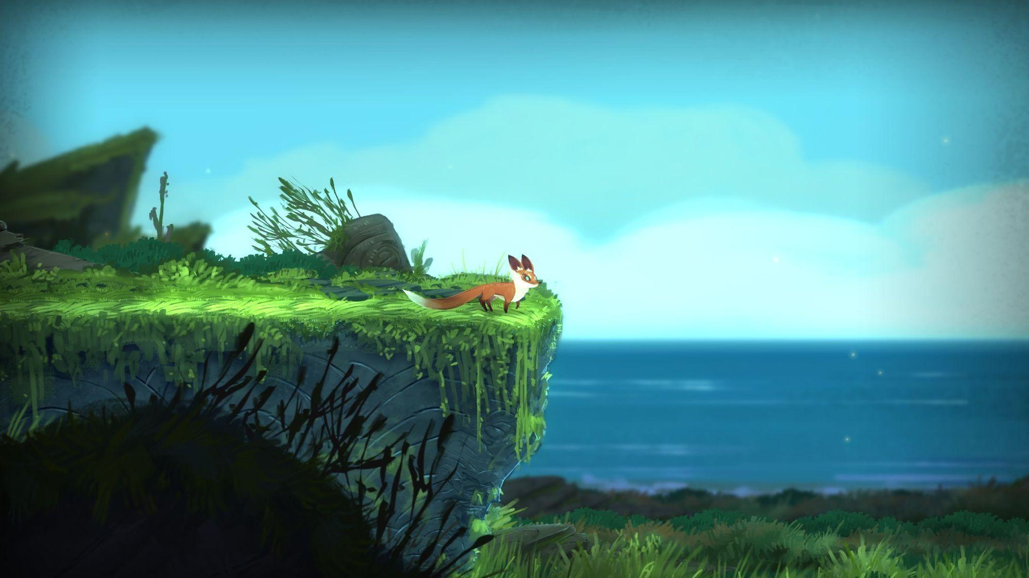 Seasons After Fall er som dratt ut av en tegnefilm.(Bilde: Andreas Bjørnbekk, Gamer.no)