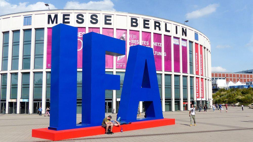 Den store IFA-messen i Berlin har mer enn 240 000 besøkende.
