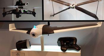Vi tittet på Parrots nye drone som kan fly i 80 km/t