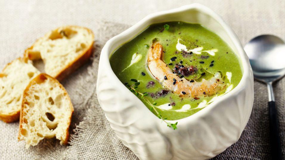 DAGENS RETT: Brokkolisuppe blir et festmåltid med denne oppskriften