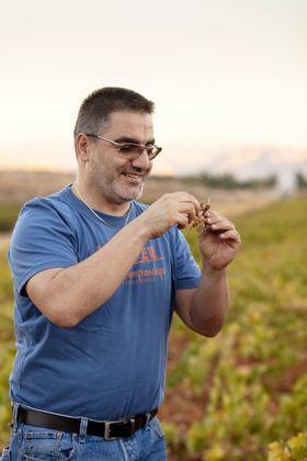 Tarek Sakr er sjefsvinmaker hos Musar.