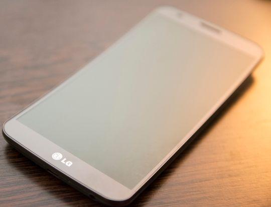 Det gikk rykter om at LG kanskje skulle lansere en ny Flex-modell her i Berlin, og dermed ble ur-G Flex-en med på lasset.