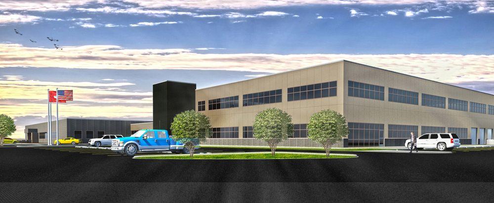 Slik vil Endress+Hauser sin fabrikk i Michigan se ut når den åpner på sommeren 2017.