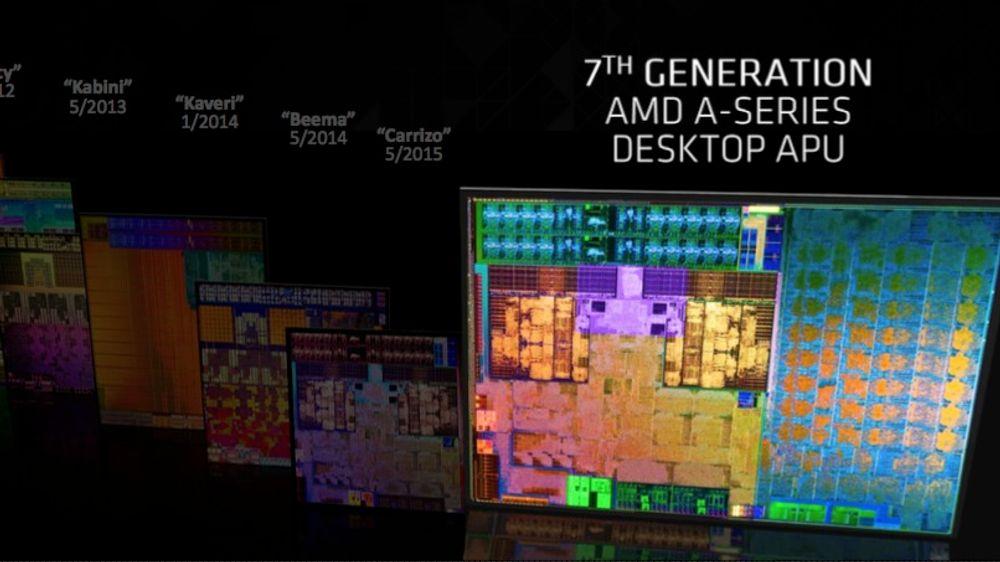 AMD har lansert nye prosessorer med kraftig grafikk
