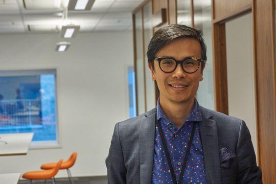 Thang Manh Tran, forretningsutvikler i DNB.