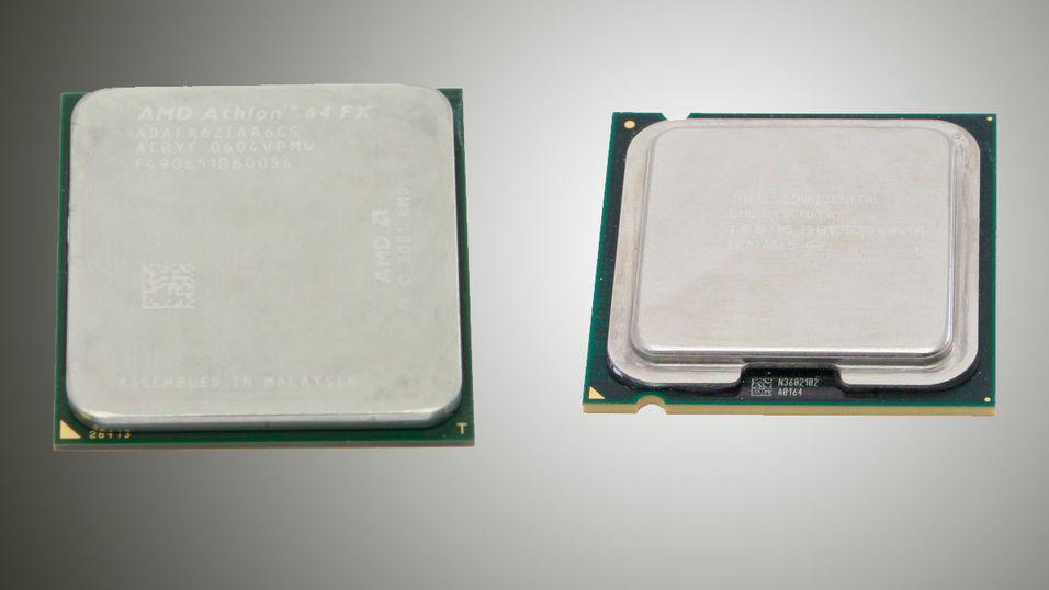 TEST: Athlon 64 FX-62 og Pentium EE 965