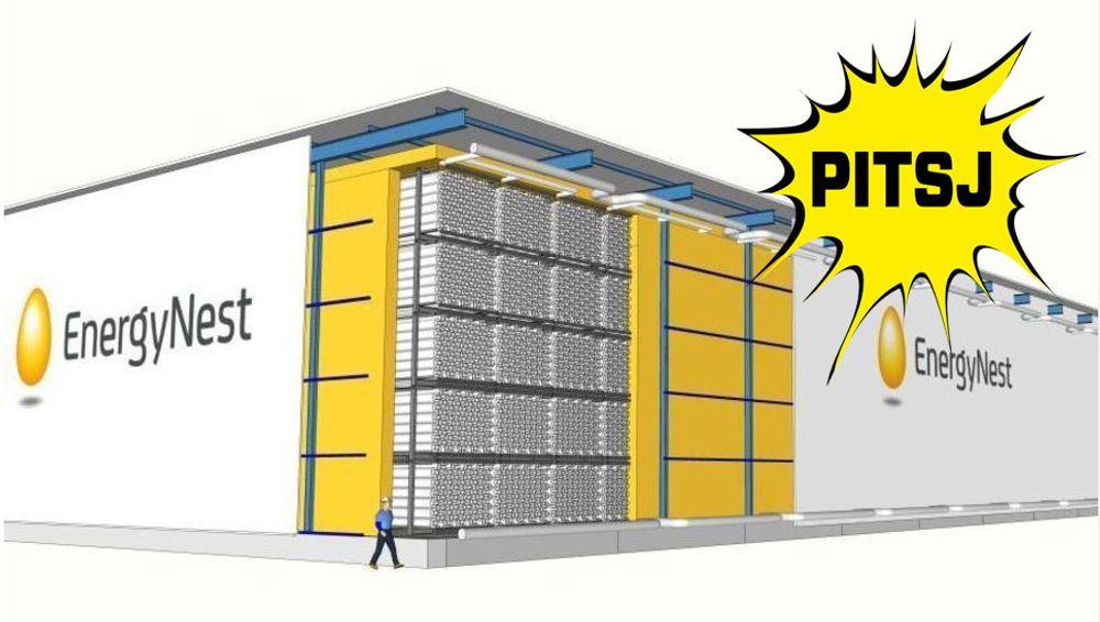 I slike betongmoduler med plass til store mengder termisk energi, vil Energynest løse problemet med store mengder fornybar energi som lager ubalanse i kraftsystemer verden over.