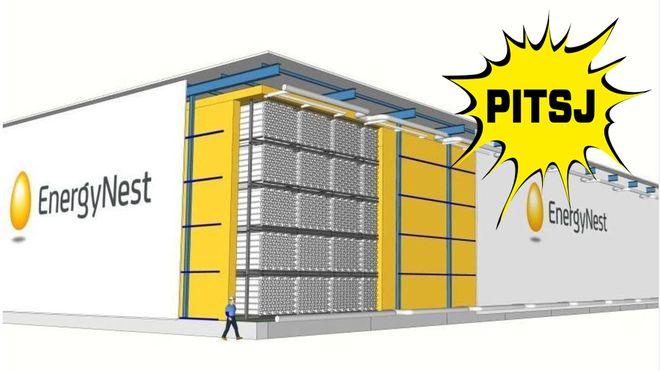 Energynest: Denne containeren lagrer store mengder energi og kan stables som legoklosser